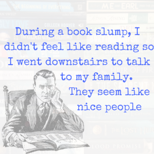 Book Slump Meme
