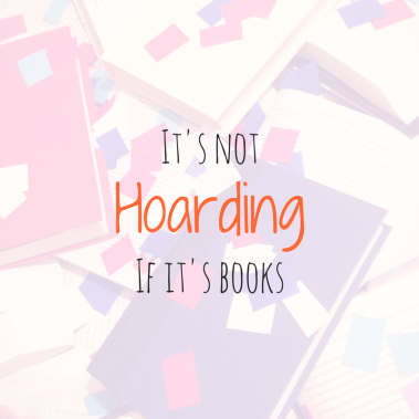 It's not hoarding if it's books (1)