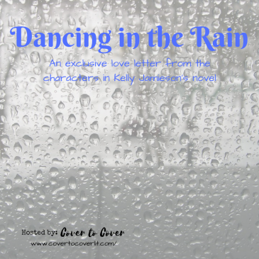 Dancing in the Rain by Kelly Jamieson love letter image