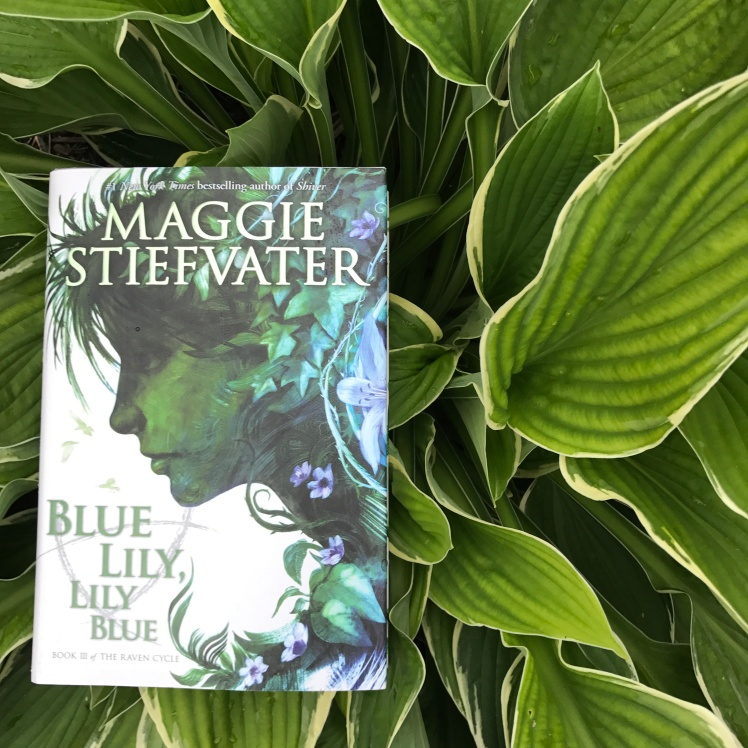 Blue Lily, Lily Blue by Maggie Stiefvater on Cover to Cover Book and Blogging Blog Yearbook Superlatives by Kat Snark