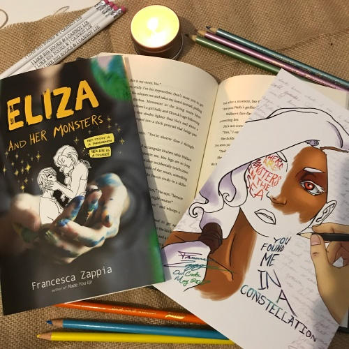Eliza and Her Monsters by Francesca Zappia on Cover to Cover Book and blogging blog by Kat Snark
