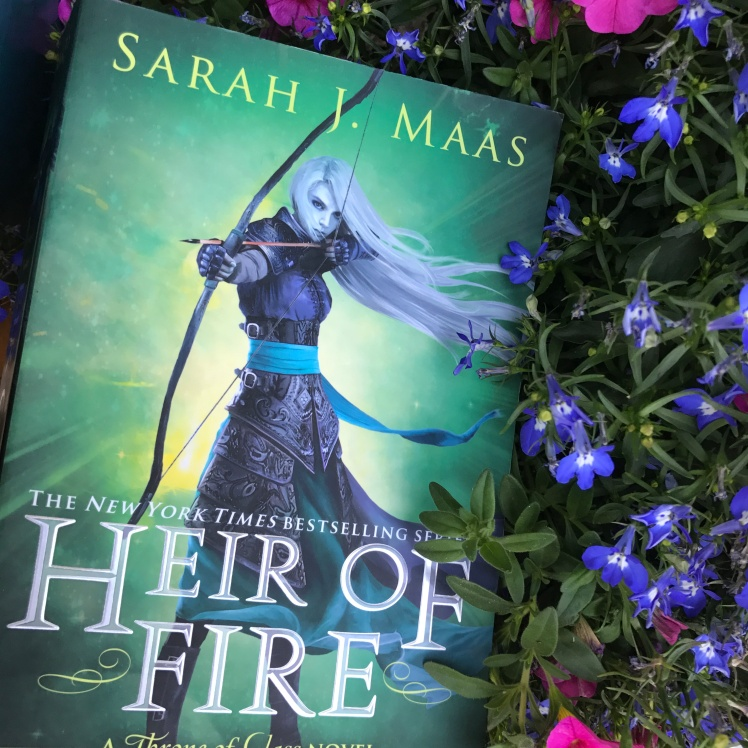 Heir of Fire by Sarah J. Maas Throne of Glass series SJM Celaena Sardothien Aelin Galaytheimus on Cover to Cover Book and Blogging Blog Yearbook Superlatives by Kat Snark