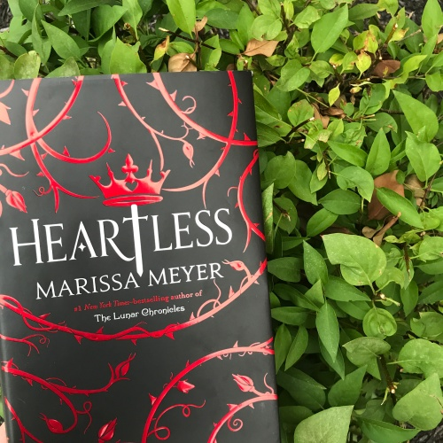 Heartless by Marissa Meyer on Cover to Cover Book and Blogging Blog Yearbook Superlatives by Kat Snark