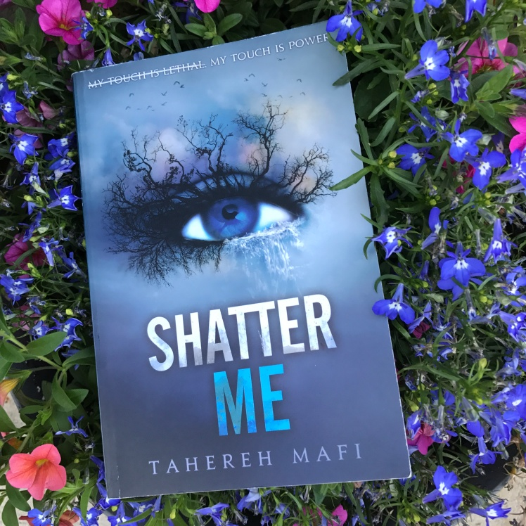 Shatter Me by Tahereh Mafi on Cover to Cover Book and Blogging Blog Yearbook Superlatives by Kat Snark