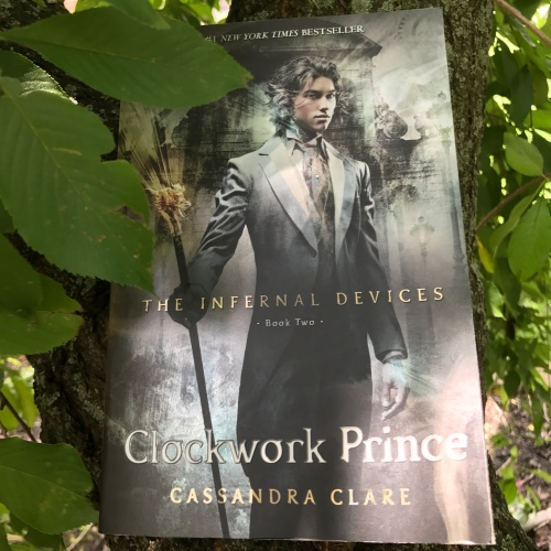 Clockwork Prince by Cassandra Clare on Cover to Cover Book and Blogging Blog Yearbook Superlatives by Kat Snark