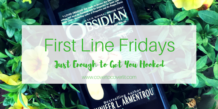 First Line Friday on Cover to Cover Book and Blogging Blog by Kat Snark hosted by Wandering Words
