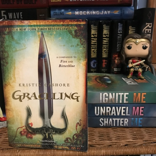 Graceling by Kristin Cashore on Cover to Cover Book and Blogging Blog by Kat Snark
