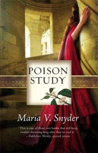 Poison Study by Maria V. Snyder on Cover to Cover Book and Blogging Blog by Kat Snark