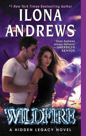 "Wildfire by Ilona Andrews Nevada Baylor, Connor ""Mad"" Rogan on Cover to Cover Book and Blogging Blog Waiting on Wednesday by Kat Snark"
