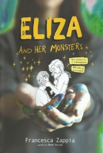 Eliza and Her Monsters by Francesca Zappia Top Ten High School Romances on Cover to Cover Book and Blogging Blog by Kat Snark