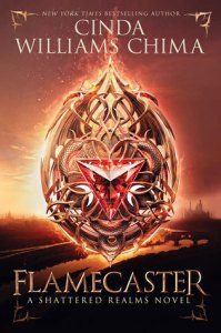 Flamecaster by Cinda Williams Chima T5W Top Five Wednesday Books with no romance on Cover to Cover Book and Blogging Blog by Kat Snark
