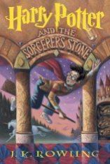 Harry Potter and the Sorcerer's Stone by JK Rowling Biannual Bibliothon Summer 2017 on Cover to Cover Book and blogging blog by Kat Snark