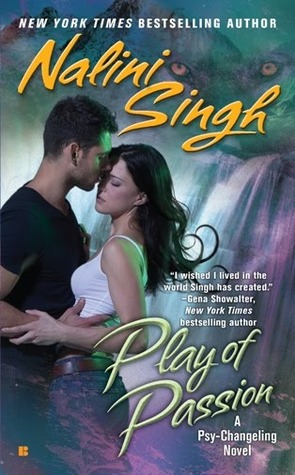 Play of Passion by Nalini Singh Biannual Bibliothon Summer 2017 on Cover to Cover Book and Blogging Blog by Kat Snark