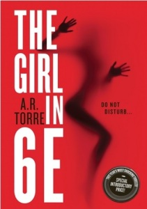 The Girl in 6E by AR Torre T5W Top Five Wednesday Books with no Romance on Cover to Cover Book and Blogging Blog by Kat Snark