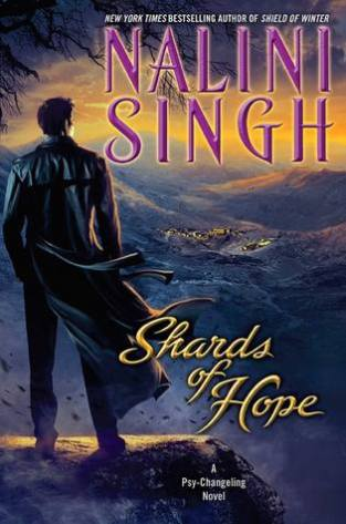 Shards of Hope by Nalini Singh Cover to Cover Book and Blogging Blog by Kat Snark Reading books blog reader novels Biannual Bibliothon Winter 2018