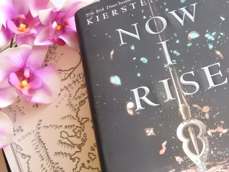 The Bookish Q&A Tag by Deborah Kealty from Paperfury Cait Paper Fury cover to cover book blog C2C Book Blog blogger reader books reading kat snark katey Kruback The Book Habits and Currently Reading Tag Book Tag spring Now I Rise Kiersten White And I Darken