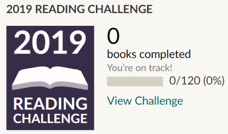 Reading Challenge Goodreads 2019 Cover to Cover Book Blog Kat Snark
