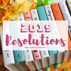 2019 Resolutions and Goals Cover to Cover Book blog kat snark