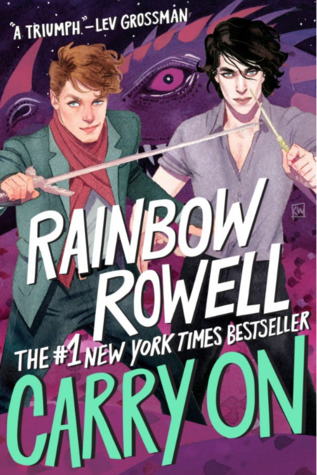 Carry On by Rainbow Rowell cover to Cover book blog kat snark