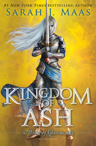 Kingdom of Ash by Sarah J. Maas cover to cover book blog kat snark