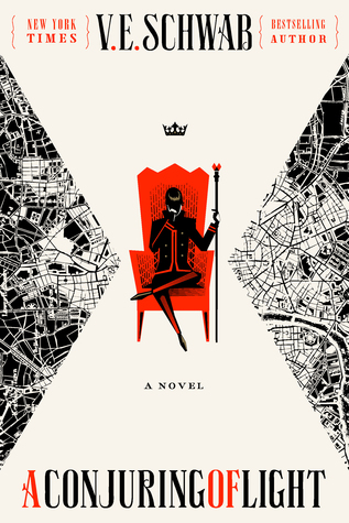 A Conjuring of Light by VE Victoria Schwab cover to Cover book blog kat snark