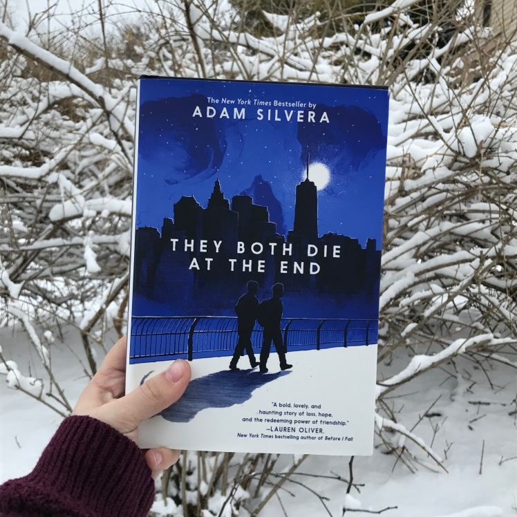 they both die at the end by adam silvera bookstagram @katsnark kat snark book blog reader blogger tbr cover to cover read