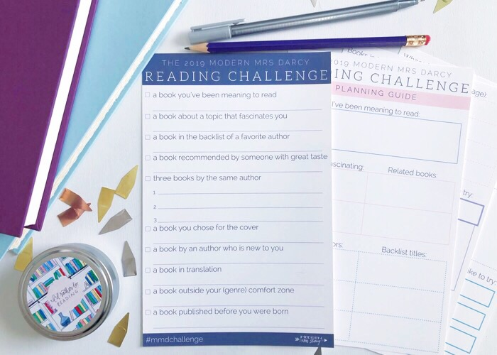 Modern Mrs. Darcy Reading Challenge 2019 Cover to Cover Book Blog kat snark