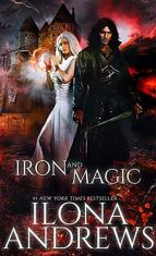 Cover to Cover Book Blog Kat snark reviews discussions book blogger book dragon reading reader recommendations five star reads Iron and Magic by Ilona Andrews