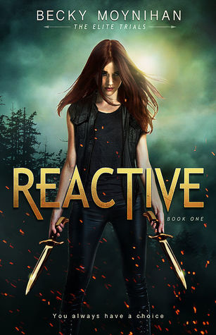 Kindle Unlimited Cover to Cover Book Blog September KU Challenge Kat Snark covertocoverlit Book Blogger Book blog reader reading Reactive by Becky Moynihan