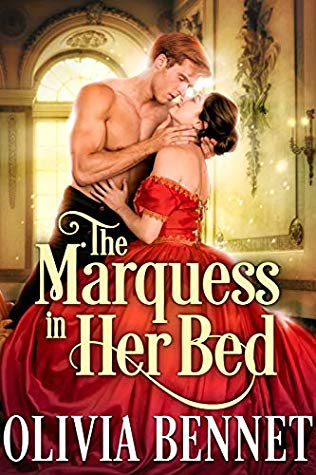 Kindle Unlimited Cover to Cover Book Blog September KU Challenge Kat Snark covertocoverlit Book Blogger Book blog reader reading The Marquess in her Bed regency romance by Olivia Bennett