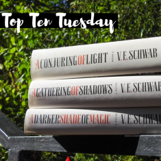 Cover to Cover Book Blog Kat Snark covertocoverlit Book Blogger Book blog reader reading Top Ten Tuesday