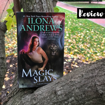 Curran Julie Magic Slays by Ilona Andrews on Cover to Cover Book and Blogging Blog by Kat Snark Kate Daniels Magic Urban Fantasy Paranormal Romance Sword Fierce Female Vampire shifter changeling slow burn romance
