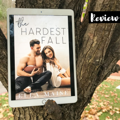Cover to Cover Book Blog Kat Snark covertocoverlit Book Blogger Book blog reader reading The Hardest Fall Kindle Unlimited by Ella Maise College neighbors roomies friends to lovers