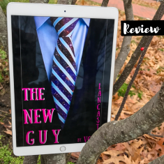 The New Guy by VC Lancaster V.C. Lancaster V.C Lancaster Alien Sci-Fi Science Fiction Romance Recommendation Kindle Unlimited Read Cover to Cover Book Blog Kat Snark covertocoverlit Book Blogger Book blog reader reading Romance